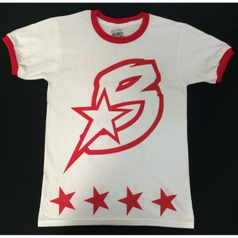 B-Star T-Shirt Red and White