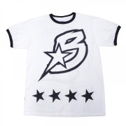 B-Star T-Shirt Black and White