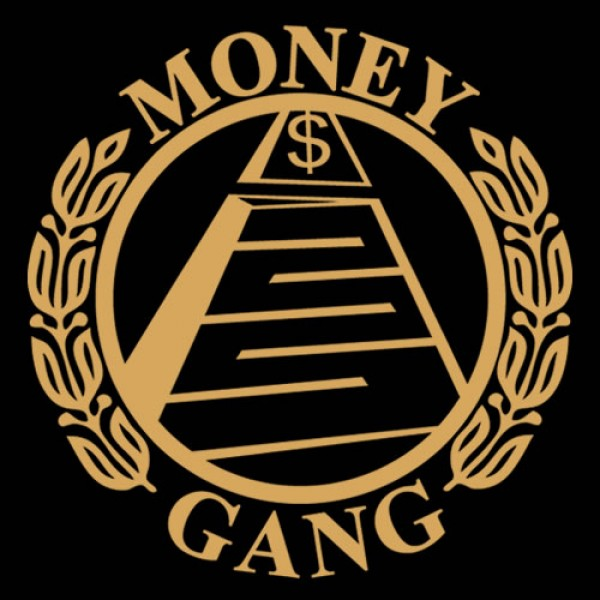 Money gang fat boy t shirt gold print - Gang gang ...