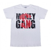 Big Money T-Shirt White with Black and Red