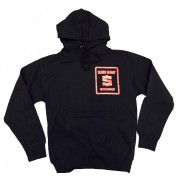 BME Hoodie Black with Red Logo