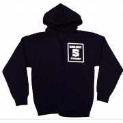 BME Hoodie Black with White Logo