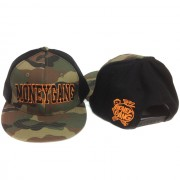 Money Gang Camo Black and Orange