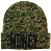 Camo MONEY Beanie