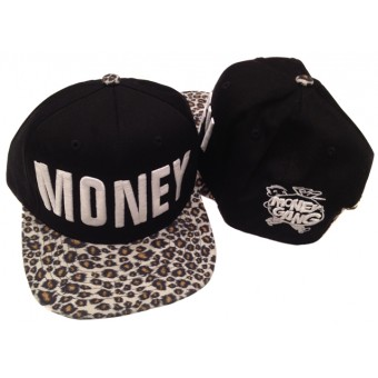 Money Snapback Cheetah Print