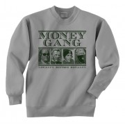 Dead Presidents Green Print Crewneck