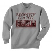 Dead Presidents Red Print Crewneck