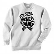 Money Gang Fat Boy Crewneck Black Print