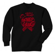 Money Gang Fat Boy Crewneck Red Print