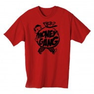 Money Gang Fat Boy T-Shirt Black Print