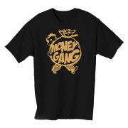 Money Gang Fat Boy T-Shirt Gold Print
