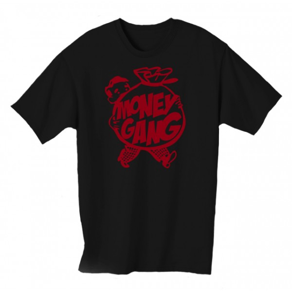 Money Gang Fat Boy T-Shirt Red Print