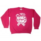 Hot Pink Fatboy Girl Crewneck