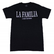 La Familia T-Shirt Black with White