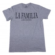 La Familia T-Shirt Heather with Black