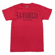 La Familia T-Shirt Red with Black