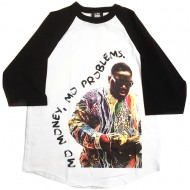 Mo Money Mo Problems Biggie Baseball T-Shirt