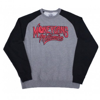 Money Gang Millionaire Baseball Cut Sweatshirt