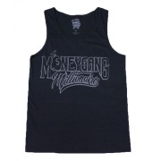 Money Gang Millionaire Tank Top Black with 3M