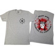 Operation Kill Everything T-Shirt Heather Grey