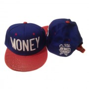 Royal Blue and Red Gator MONEY Hat