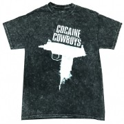 Cocaine Cowboys Acid Washed T-Shirt