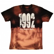Vintage Stained 1992 T-Shirt White Print