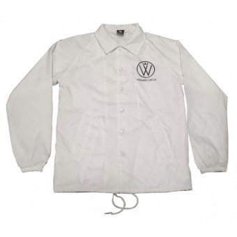 Winners Circle Logo Windbreaker White