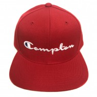 Compton Hat Champion Script Red