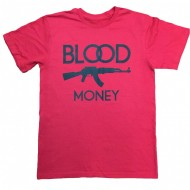 By Any Means BME T-Shirt Red Black