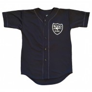 Blood Money Baseball Jersey Black