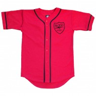 Blood Money Baseball Jersey Red