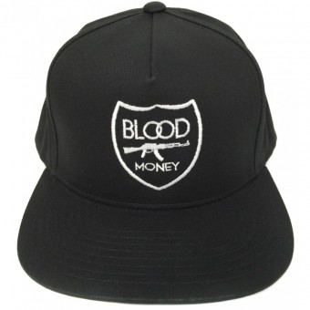 Blood Money Crest SnapBack Black