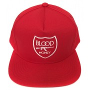 Blood Money Crest SnapBack Red