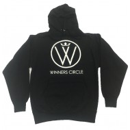 Winners Circle Logo Hoodie Black