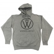 Winners Circle Logo Hoodie Grey