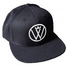 Winners Circle Logo Snapback Hat Black