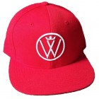 Winners Circle Logo Snapback Hat Red