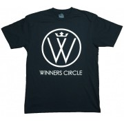 Winners Circle Logo T-shirt Black